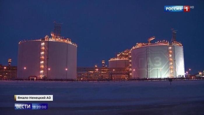 В России заработало на полную мощность производство по выпуску сжиженного газа «Ямал СПГ»