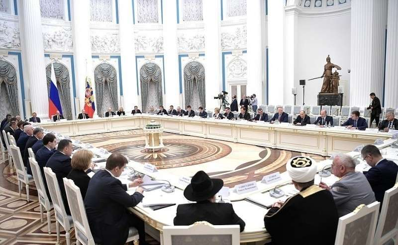 Заседание Российского организационного комитета «Победа».