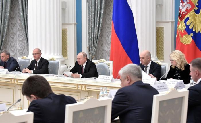 Владимир Путин провёл 40-е заседание Российского организационного комитета «Победа»
