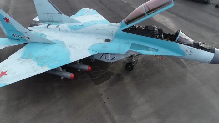 Новейшие истребители МиГ-35 начали испытательные полёты. Эксклюзивное видео Минобороны