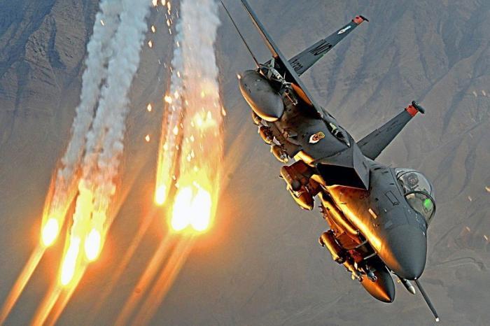 В Сирии авиация США стирает с лица земли город Хаджин