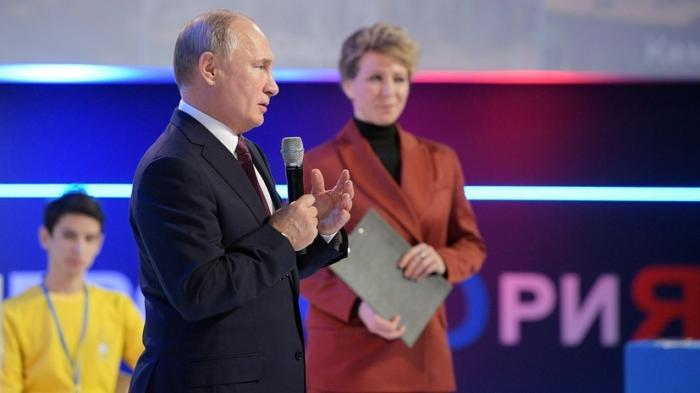 Владимир Путин призвал молодёжь России идти в бизнес за долгосрочными результатами