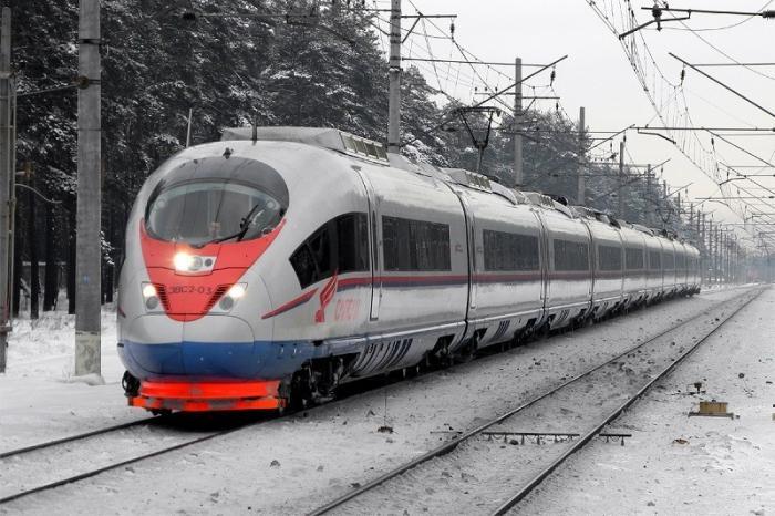 Сверхскоростным поездам в России мешают старые рельсы