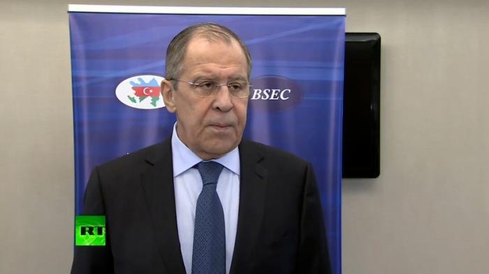 Сергей Лавров подвёл итоги заседания глав МИД стран ОЧЭС в Баку