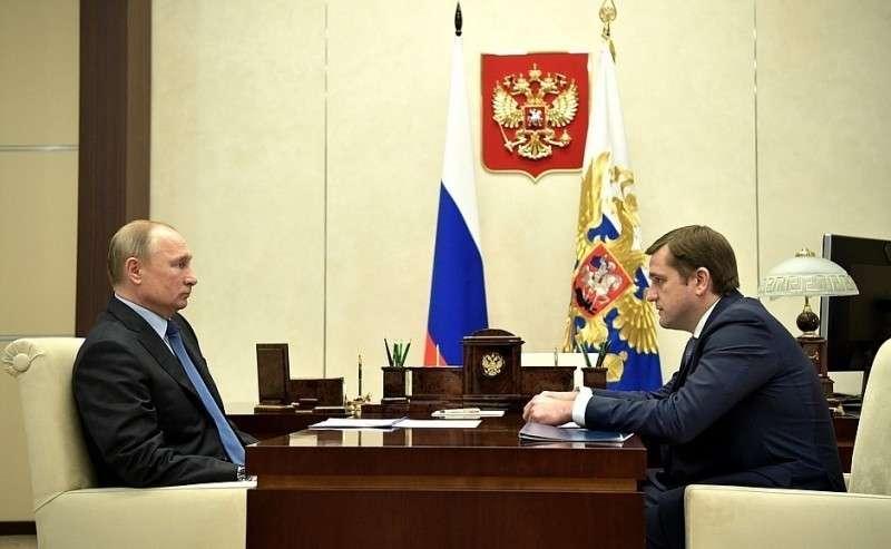 Встреча сруководителем Федерального агентства порыболовству Ильёй Шестаковым.