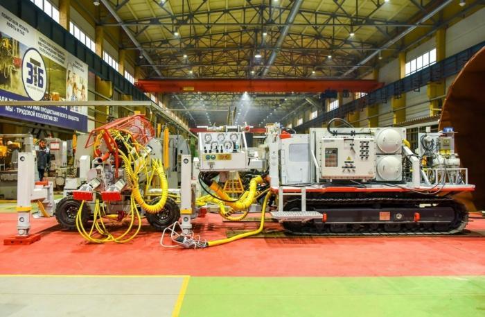 Кировский завод начал серийное производство шахтных буровых установок мирового уровня