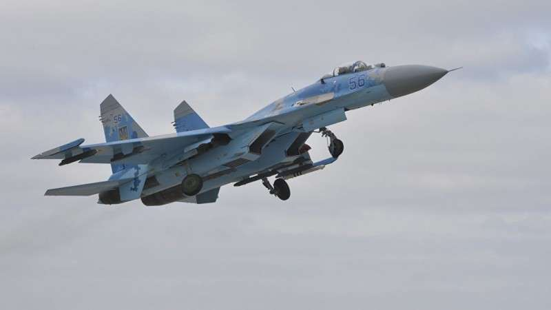 На Украине разбился Су-27, пилот погиб, пилот погиб