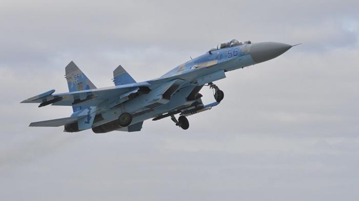 На Украине разбился Су-27, пилот погиб