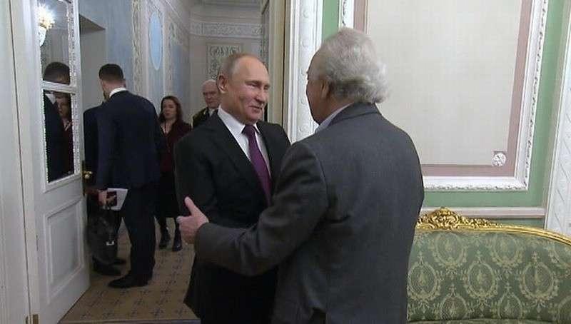 Владимир Путин поблагодарил дирижёра Юрия Темирканова за неописуемые чувства