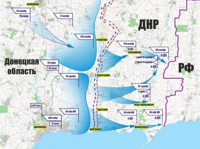 Сводка с фронтов ДНР и ЛНР за неделю: на всех направлениях фиксируется активность ВСУ