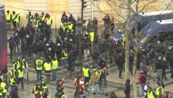 Франция. Накал майдана «желтых жилетов» слабеет