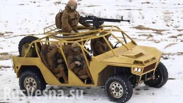 В сети высмеяли новый автомобиль картелей украинской нацгвардии | Русская весна
