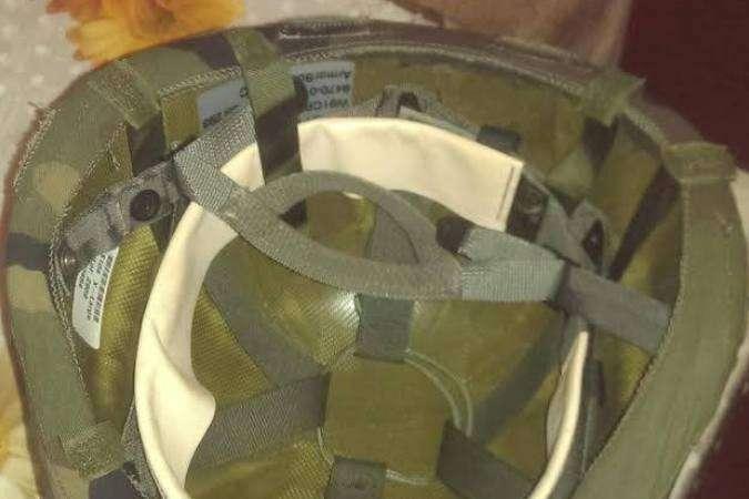 Минобороны Украины отправило солдатам на передовую «шлемы для пейнтбола»