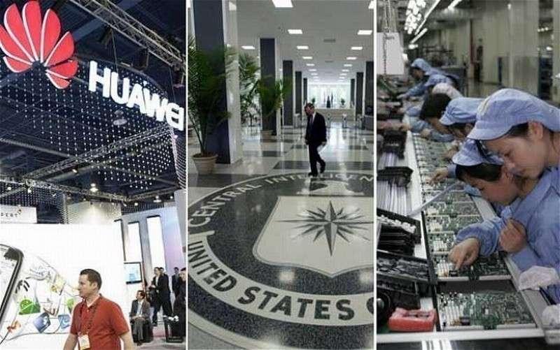 За атакой на китайский HUAWEI стоят спецслужбы «пятиглаз»