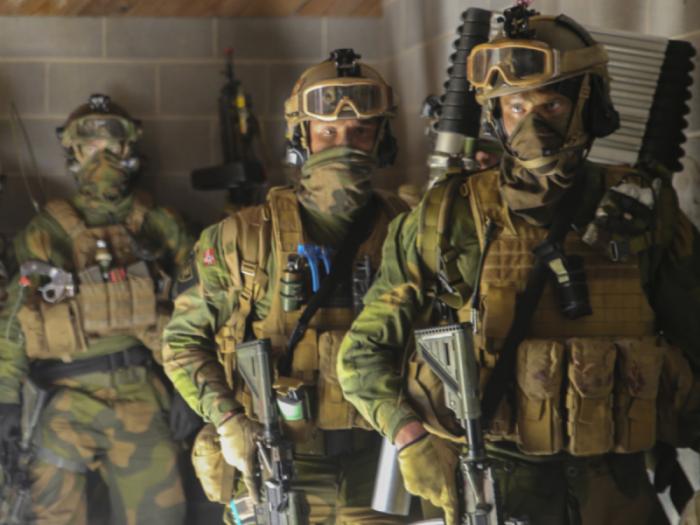 Боевики из Норвегии прибыли на линию разграничения между ВСУ и силами ДНР и ЛНР