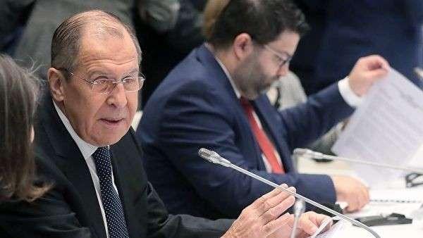 Глава МИД РФ Сергей Лавров перед началом ежегодного заседания Совета министров иностранных дел ОБСЕ в Милане.  6 декабря 2018