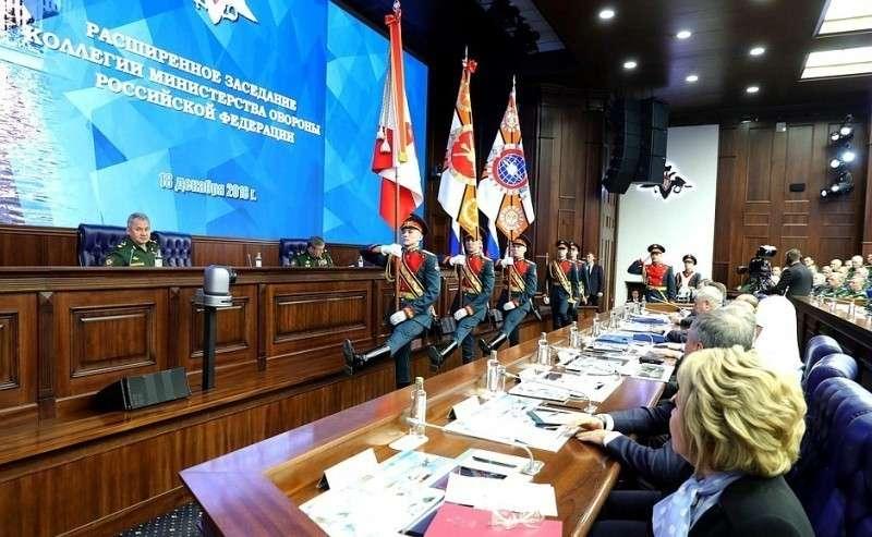 Церемония вручения государственных наград военным подразделениям.
