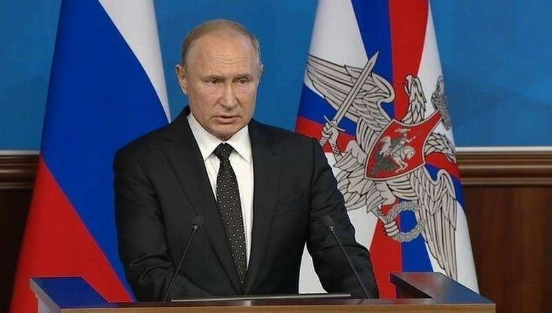 Путин: если США выйдут из ДРСМД, Россия легко возродит наземные ракеты