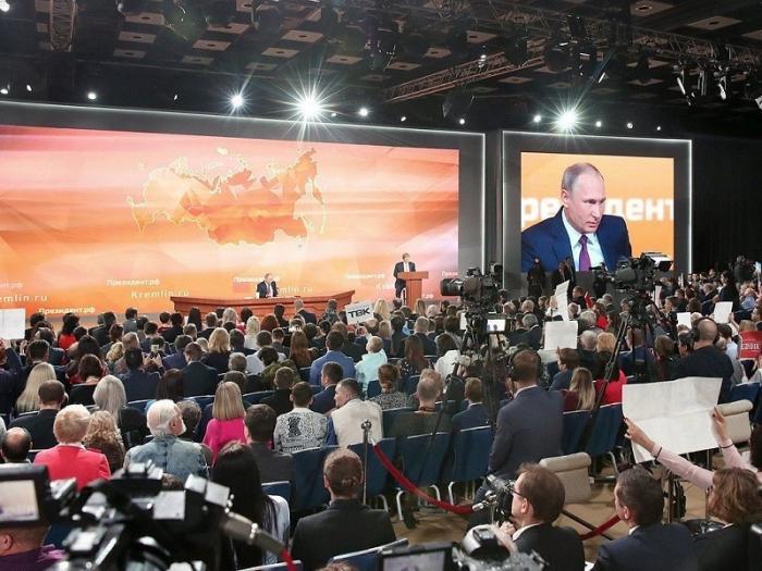 Пресс-конференция Путина 20 декабря 2018 года. Итоги года