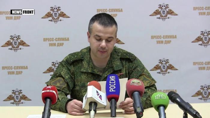К северу от Горловки ВСУ провели тренировку по ведению огня из РСЗО и тяжелой артиллерии