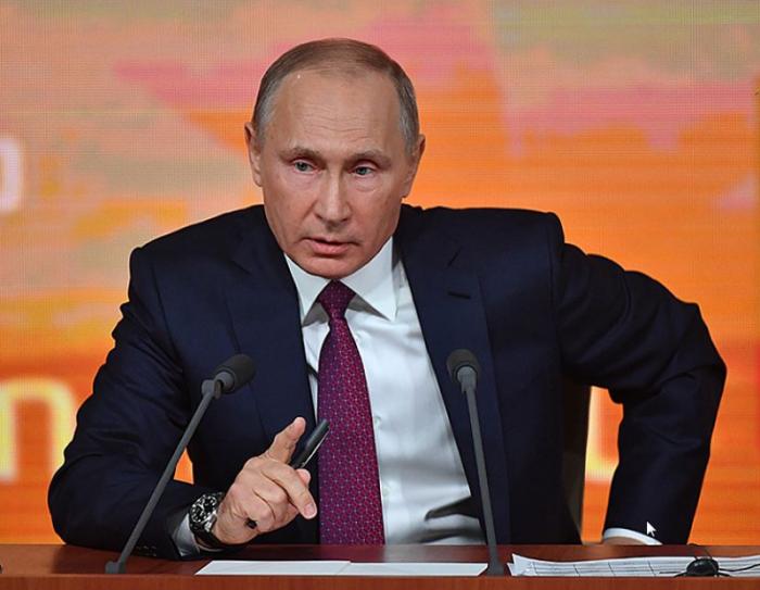 Пресс-конференция Владимира Путина 2018. Прямая трансляция