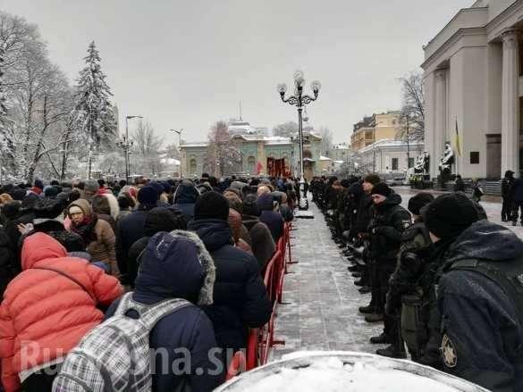 Православные собираются устен Рады (ФОТО, ВИДЕО) | Русская весна