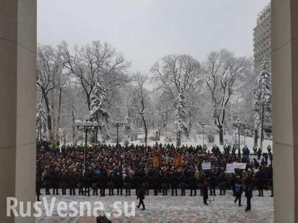 Прихожане РПЦ на Украине собираются устен Рады