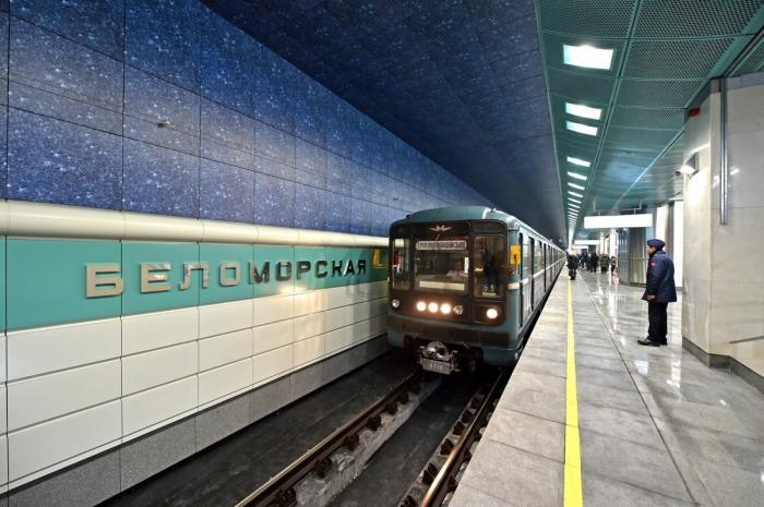 ВМоскве на Замоскворецкой линии открыта новая станция метро – «Беломорская»