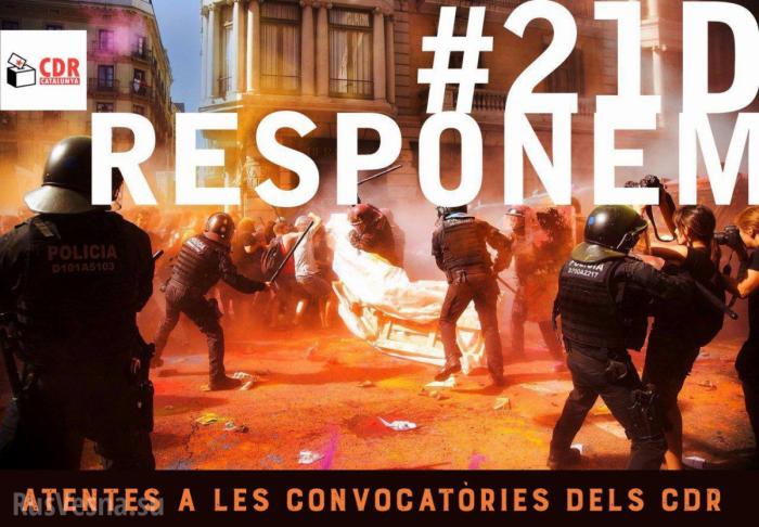 Каталония протестует и требуют независимости, опять