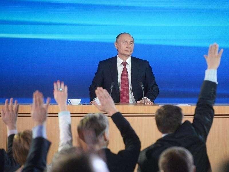 Пресс-конференции Владимира Путина – самые главные темы