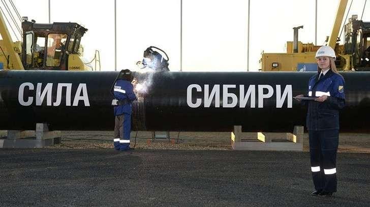 «Газпром» завершил основной объём работ налинейной части «Силы Сибири»