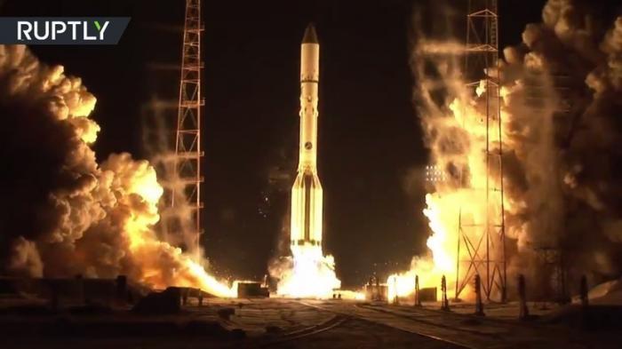 Ракета-носитель «Протон-М» вывела на орбиту российский военный спутник