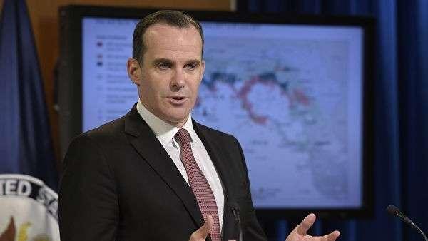 Спецпредставитель США в коалиции по борьбе с Исламским государством* Бретт Макгерк