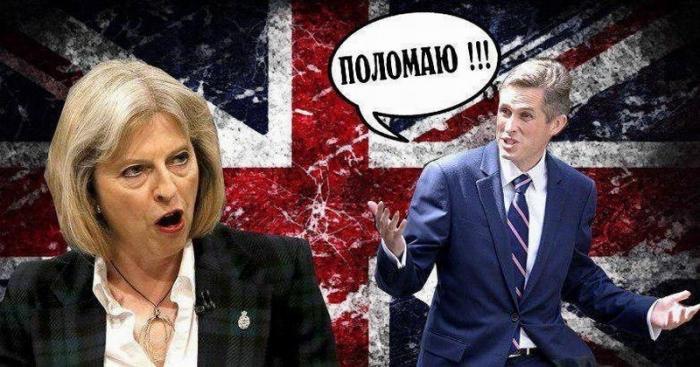Военный переворот в Англии не удался, Гэвин Уильямсон не смог устранить Терезу Мэй