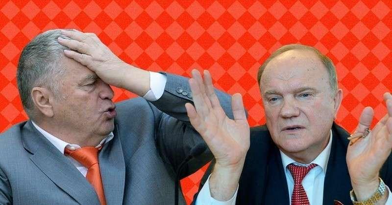 Проходимец Геннадий Зюганов пытается дать советы Владимиру Путину