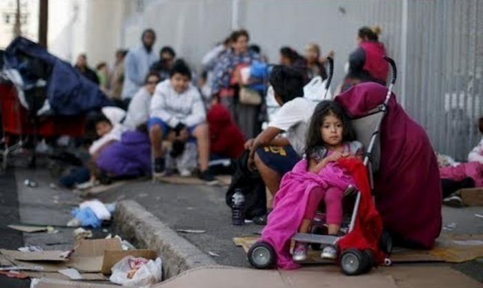 США. Лос-Анджелес штат Калифорния: нищета рядом с богатством