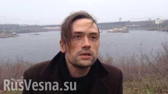 Актёр Пашинин тихо сходит с ума в Одессе | Русская весна
