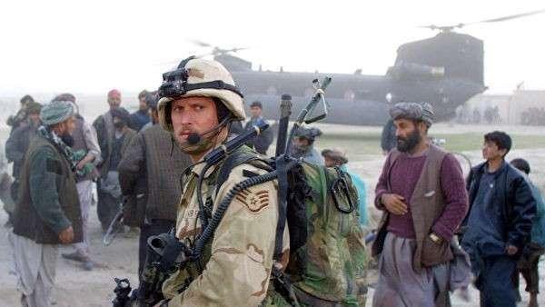 Военнослужащий сил специального назначения армии США в Афганистане