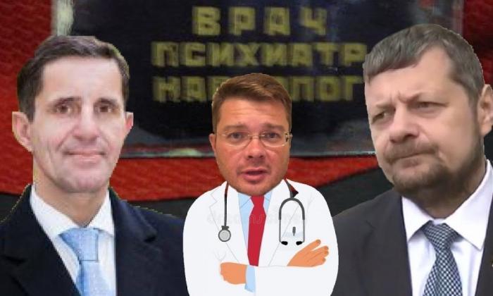 Драка в эфире: депутат Мосейчук накинулся на оппонента с палкой