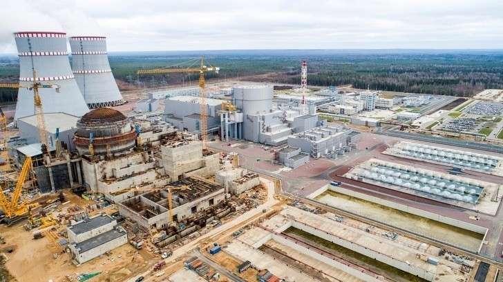 Введён впромышленную эксплуатацию 1-й энергоблок среактором ВВЭР-1200 Ленинградской АЭС-2