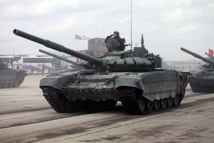 Новые танки Т-72Б3 поступили навооружение 49-й армии ЮВО