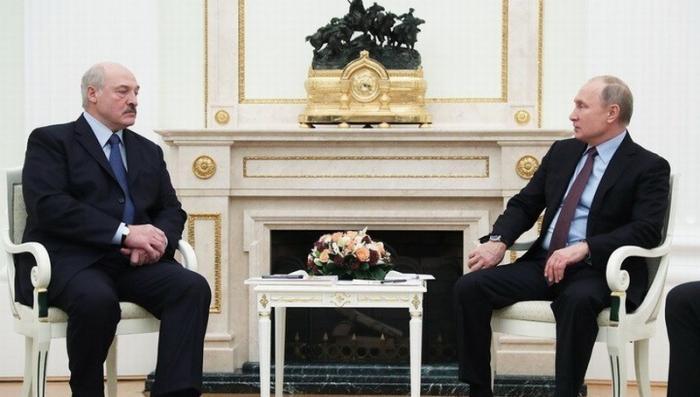 Владимир Путин и Александр Лукашенко начали в Кремле новый раунд переговоров