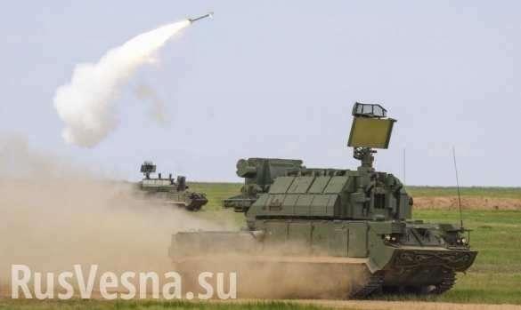 Стрельб ЗРК Тор показало Министерство Обороны | Русская весна