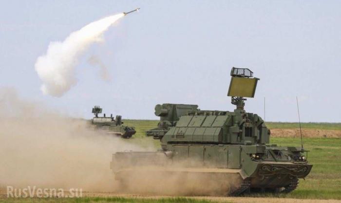 Стрельб ЗРК Тор показало Министерство Обороны
