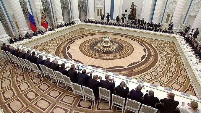 Встреча спредставителями деловых кругов России
