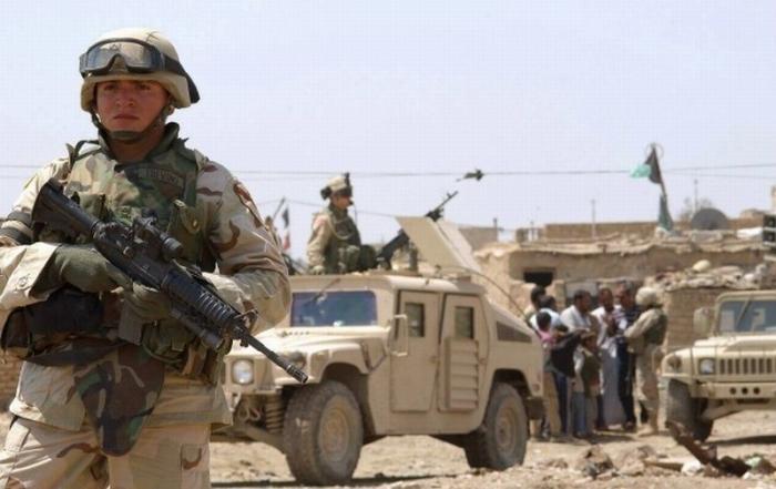 США создали в Ираке у границы с Сирией две новые военные базы
