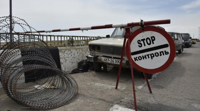 ФСБ прокомментировало строительство заграждений на границе с Украиной в Крыму