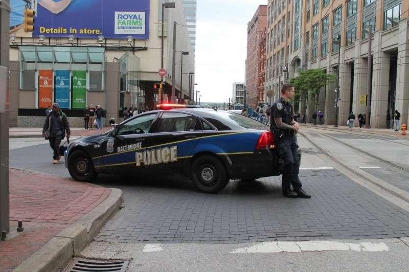 полиция Балтимора