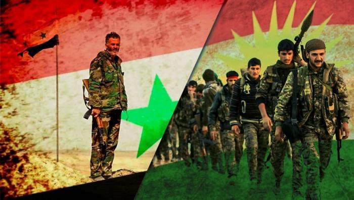 Сирия. Проамериканские курды вымаливают у Башара Асада спасения
