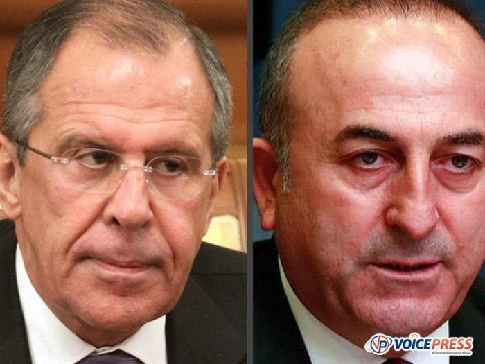 Пресс-подход Лаврова и Чавушоглу по итогам российско-турецких консультаций